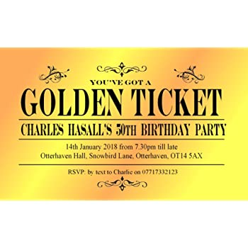 Magnetic party invitations onvacationsite 50 personalised magnetic party invitations for any birthday filmwisefo