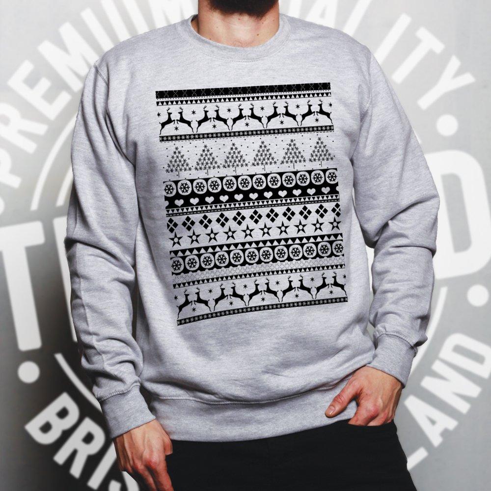 318b047460e3 Christmas Jumper Sweater Sweatshirt Traditional Xmas Jumper Ugly Sweater  Pattern Merry Festive Season Jolly Holly Santa Cool Funny Gift Present
