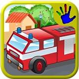 ABC preescolar coche carro y motor conecte el punto Puzzle - enseña a los niños las números, letras y contando adecuado para bebés y niños de Kinder