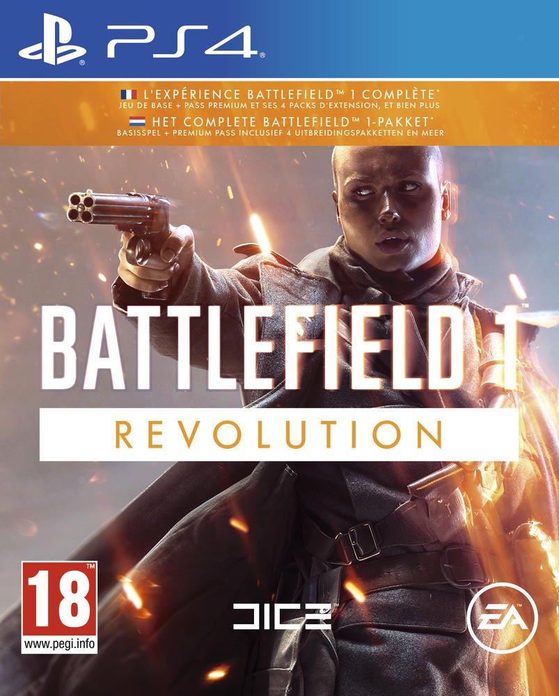 Battlefield 1 - Revolution PS4