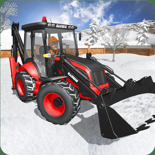Excavadora de rescate de nieve 2019