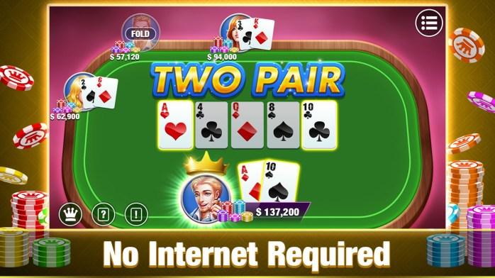 Poker:Free Texas Holdem Poker Offline,Best Poker Games For ...