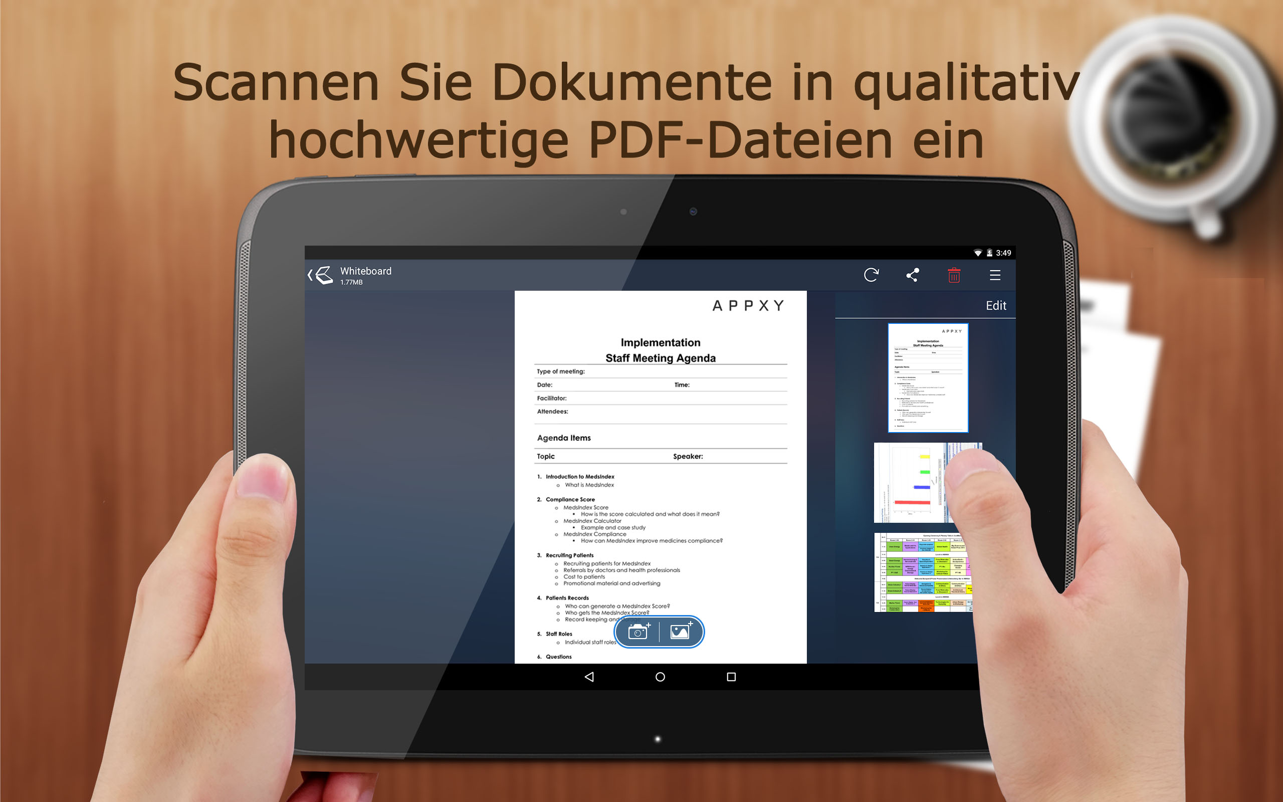 Tiny Scanner Pro - PDF scanner to scan document, receipt & fax Screenshot