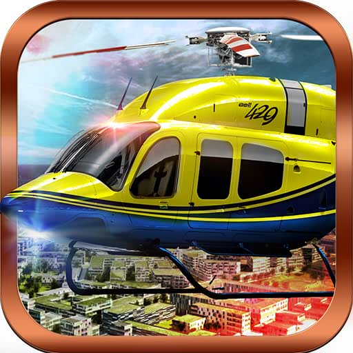 911 Police Gunship Hubschrauber Air Strike Kampf Kampf Flugsimulator 3D: Great Adventure Of War Flügel in den Regeln der Survival Games Free