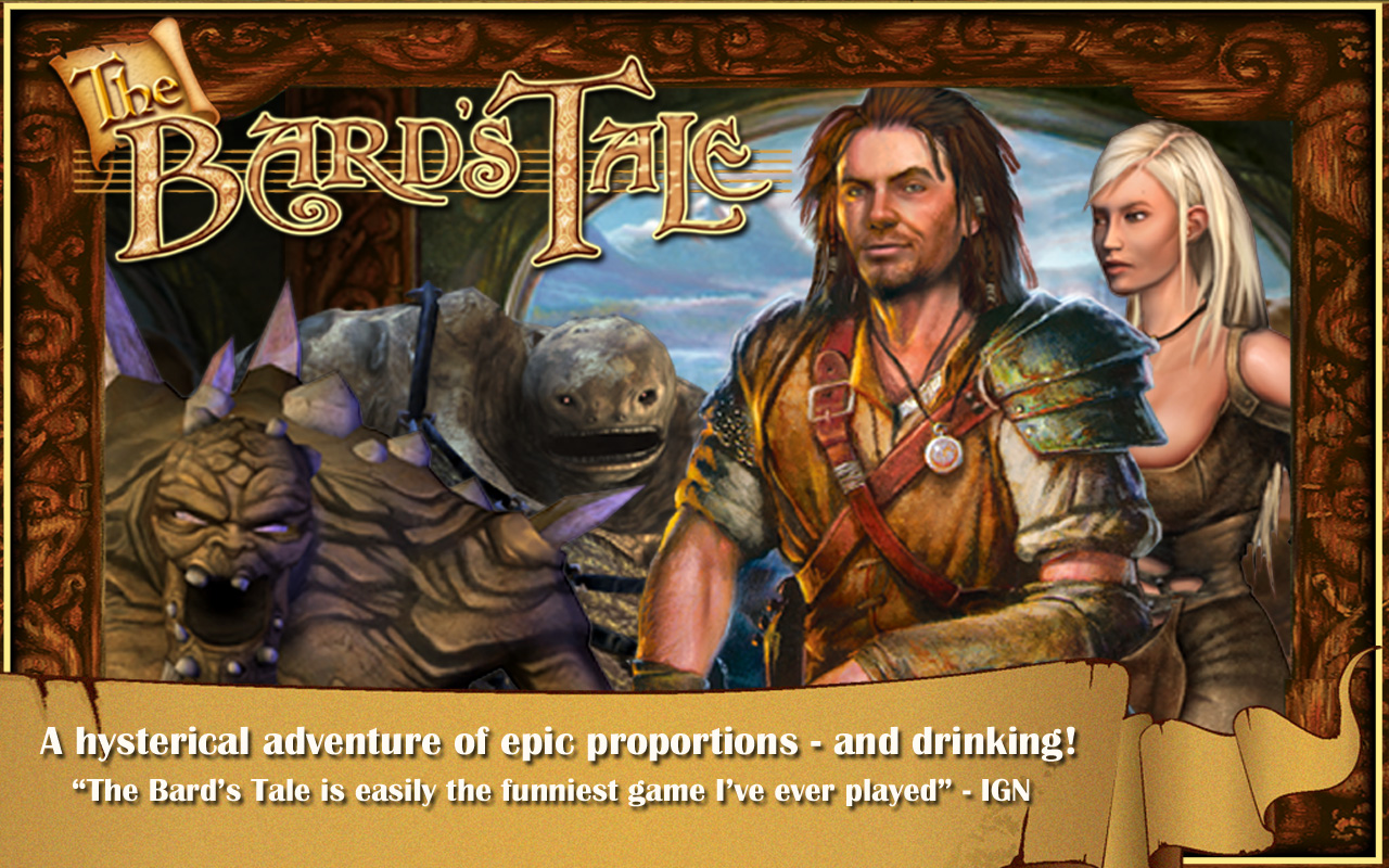 The Bard's Tale Screenshot