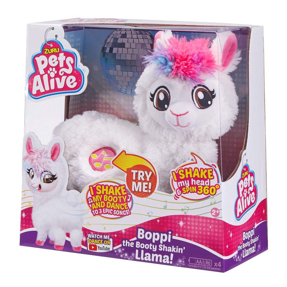 ZURU-PETS-ALIVE-Boppi-The-Booty-Shakin-Llama-White
