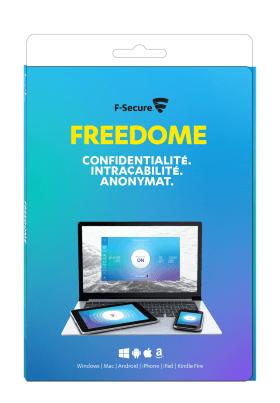 F-Secure Freedome VPN 1 an / 3 appareils [Code Jeu ]