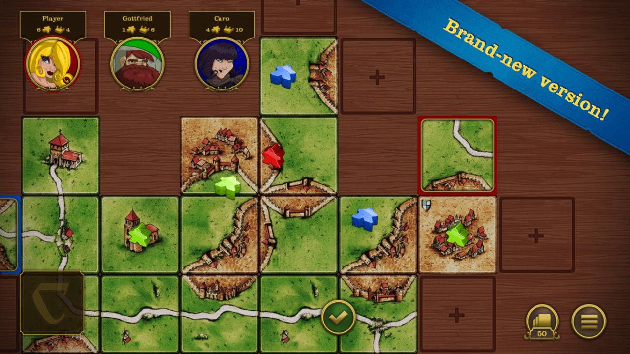 Carcassonne Screenshot