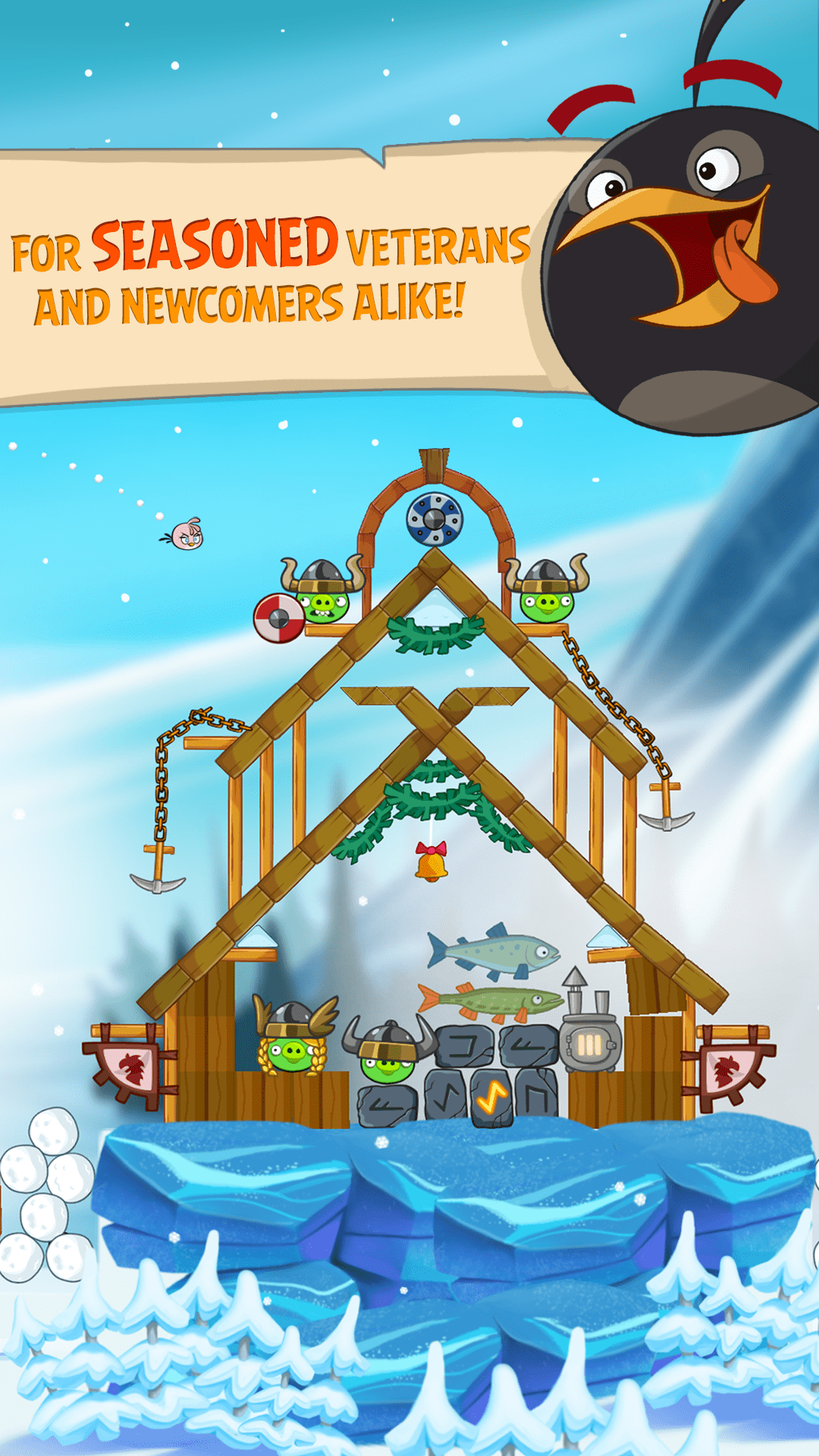Angry Birds Seasons (Ad-Free) Screenshot