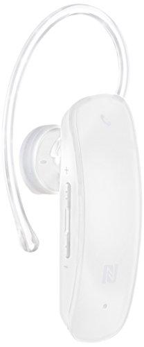 iBUFFALO iPhone7iPhone7Plus動作確認済 Bluetooth4.0対応 ヘッドセット NFC対応モデル ホワイト BSHSBE33WH