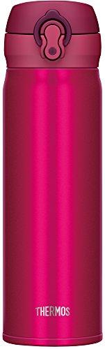 サーモス 水筒 真空断熱ケータイマグ 【ワンタッチオープンタイプ】 500ml ストロベリーレッド JNL-502 SBR