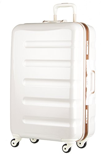 レジェンドウォーカー スーツケース 静音キャスター TSAロック 一年保証 ホワイトカーボン MLサイズ-66cm