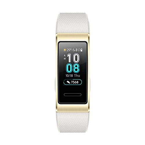 Huawei Band 3 Pro/ゴールド スマートウォッチ ※GPS内蔵 0.95インチ 約25g 自動心拍計測 通常時約10日間使用可能【日本正規代理店品】 Band 3 Pro/Quicksand Gold