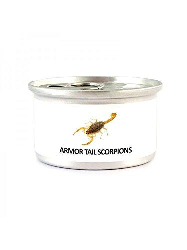 食べられる昆虫シリーズ 乾燥 キョクトウサソリ - 缶詰 2匹入り