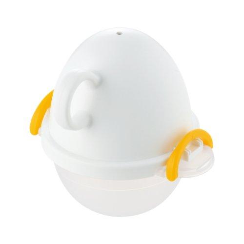 曙産業 ez egg レンジでゆでたまご1個用 ホワイト EZ-280