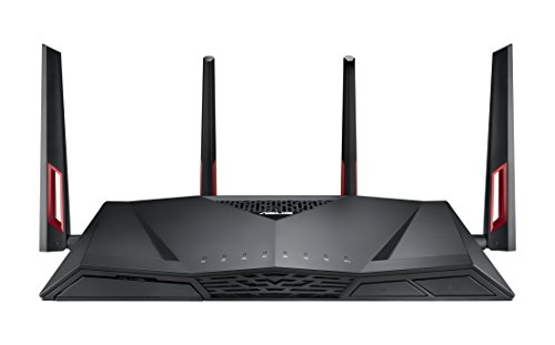 ASUS ゲーミング WiFi 無線LAN ルーター RT-AC88U 11ac 2167+1000Mbps 最大21台 4LDK 3階建向け 【 PS4 / W...