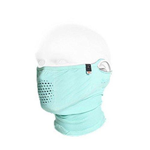 NAROO MASK N1 UV99%カット 夏用スポーツマスク (ミント)