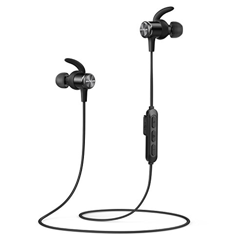 Soundcore Spirit(カナル型 Bluetoothイヤホン by Anker)【SweatGuardテクノロジー/8時間連続再生/IPX7防水規格/運動中もしっかりフィット】