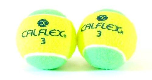 サクライ貿易(SAKURAI) CALFLEX(カルフレックス) テニス 硬式 ボール ノンプレッシャー 2球入り イエローグリーン LB-450 YLxGR
