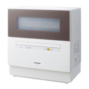 パナソニック 食器洗い乾燥機 (ブラウン) (NPTH1T) ブラウン NP-TH1-T