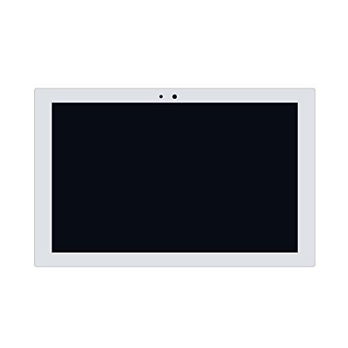 LCDOLED® 10.1インチ Sony Xperia Z4 Tablet SO-05G docomo用 2K 2560x1600 LED LCD タッチ機能付き液晶パネル 修理交換用液晶タッチパネル (ホワイト)