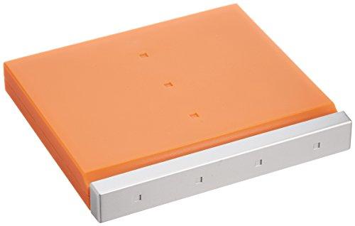サンワサプライ SD microSDカードケース 24枚収納 オレンジ FC-MMC4D