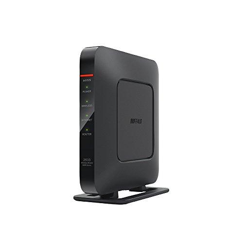 BUFFALO WiFi 無線LAN ルーター WSR-2533DHPL 11ac 1733+800Mbps 4LDK 3階建向け 【iPhoneX/iPhoneXSシリー...