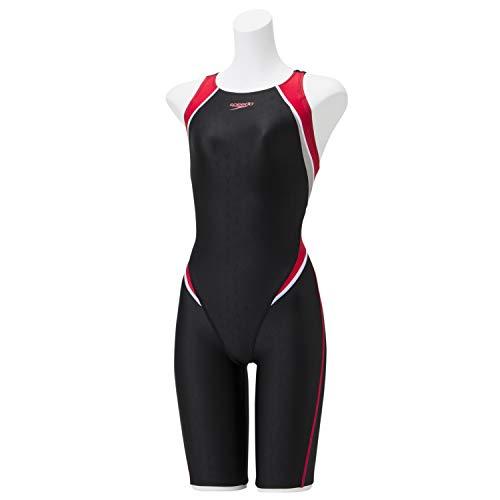 Speedo(スピード) 競泳水着 レディース セミオープンバックニースキン 4分丈 フレックスシグマII FINA 承認モデル SCW11910F レッド RE M