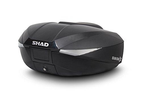 SHAD リアボックス 58L カーボン SH58X(D0B58106) 1個
