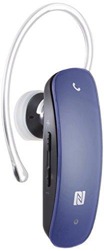 iBUFFALO iPhone7iPhone7Plus動作確認済 Bluetooth4.0対応 ヘッドセット NFC対応モデル ブルー BSHSBE33BL