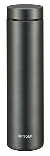 タイガー 水筒 600ml 直飲み ステンレス ミニ ボトル なめらか 飲み口 サハラ マグ 軽量 夢重力 グラファイト MMZ-A601-KG Tiger