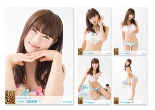 NMB48 渋谷凪咲 個別 生写真 5枚 セット 2016.July 7月