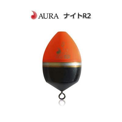 AURA(アウラ) ナイトR2 オレンジ カン付きウキ (2B/オレンジ)