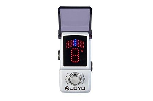 JOYO エフェクター IRONMAN ±1セント精度の ペダルチューナー Irontune JF-326 【1,699円~!】小さくて安いチューナー特集!エフェクターボードに邪魔にならないコンパクトなミニサイズのオススメペダル型チューナー!