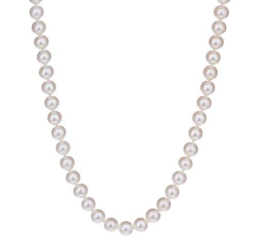 アコヤ本真珠 8.0−8.5MM ネックレス ギフトジュエリー保証書付 Pearl 職人さん厳選
