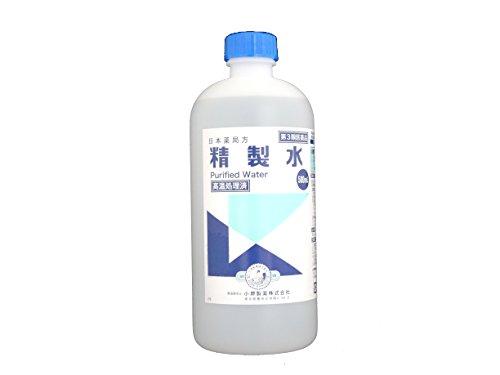 【第3類医薬品】精製水(ポリ) 500mL