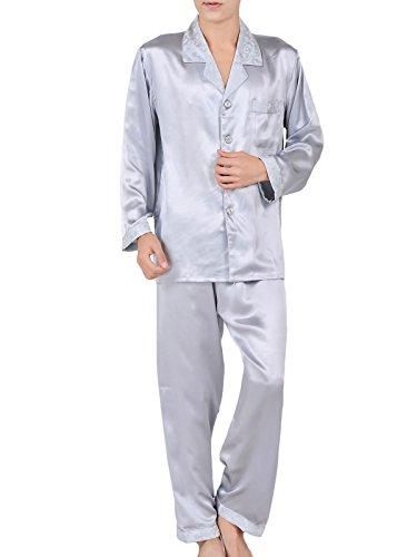 シルクのパジャマはお父さんに人気