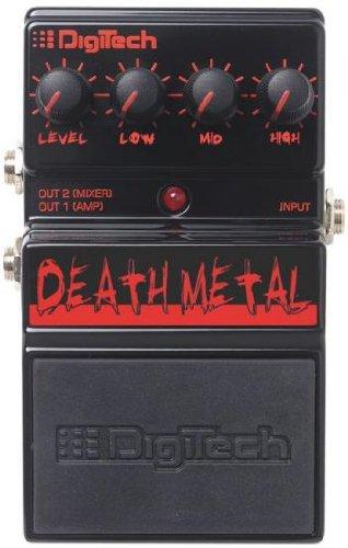 DigiTech デジテック DDM Death Metal Distortion ディストーション ギター エフェクター ペダル【並行輸入品】 MOOER エフェクター のコピー元一覧! 元ネタはあの名機!!