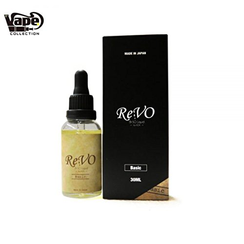 BI-SO ReVO for RDA (ビソ レボ) 30ml リキッド 国産 電子タバコ (ReVO Basic)