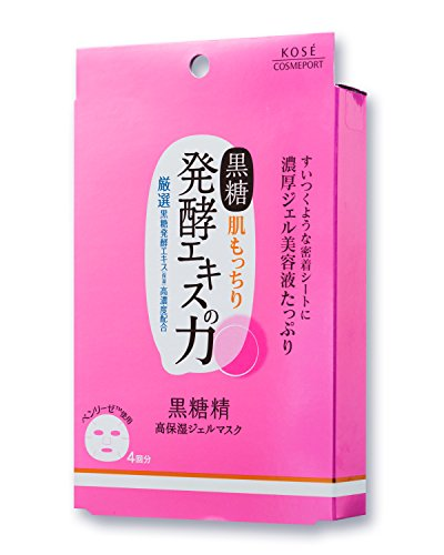 KOSE コーセー 黒糖精 高保湿ジェルマスク