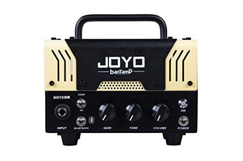【国内正規品】JOYO ジョーヨー banTamP METEOR(イエロー) 20W 2チャンネル チューブアンプヘッド 【440g~】超小型アンプ特集!小さく持ち運びも楽で良い音のする安い小型ヘッドアンプ!
