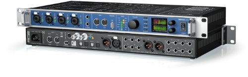 RME - FIREFACE UFX Interface USB-FWire 60 cx 192 kHz 松本靖雄 さんのオススメ機材は「RME - FIREFACE UFX Interface」 【徹底紹介】プロの作曲家・アーティストの買ってよかったオススメ機材・プラグイン!エンジニア・DTMerは必見!【DTM・REC】