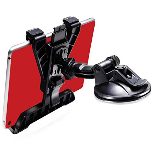 GP‐PRO タブレット ホルダー 車 載 【進化版】 粘着ゲル 真空 吸盤 トラックOK ipad