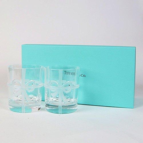 後輩の名前が入れ可能なティファニーのグラスをプレゼント