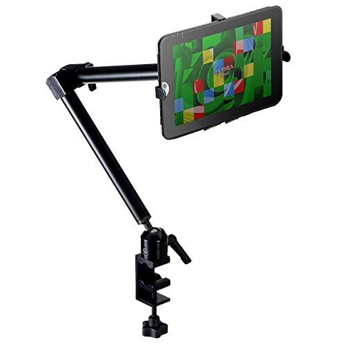 サンワダイレクト iPad タブレット アームスタンド 7~12インチ対応 iPad Pro10.5 / iPad 9.7 /iPad mini4 対応 3関節アーム 100-MR068