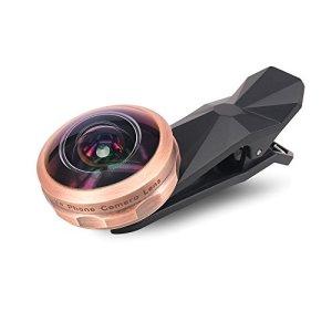 Bengooスマホ用カメラレンズ 238°超広角 魚眼 2in1