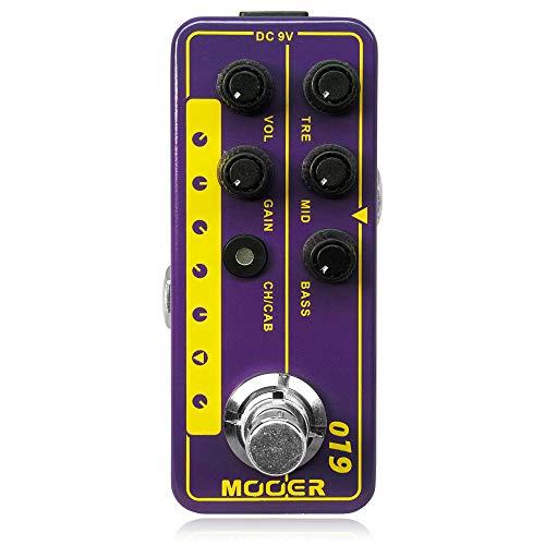 MOOER ( ムーアー ) / Micro Preamp 019 UK Gold PLXのコピー元のアンプはMarshall JTM50 Plexi Head 【徹底解析】Mooer Micro Preamp  エフェクター のコピー元一覧! 元ネタはあの名アンプ!!【ムーアー プリアンプ】