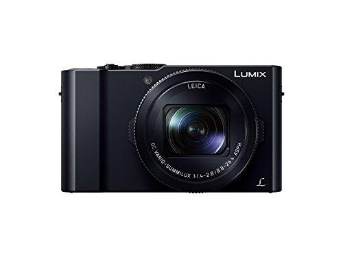 Panasonic コンパクトデジタルカメラ ルミックス LX9 1.0型センサー搭載 4K動画対応 ブラック DMC-LX9-K