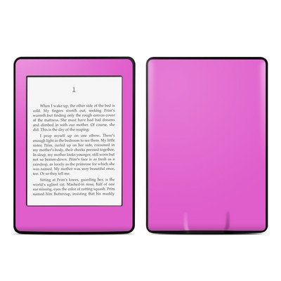 Amazon Kindle Paperwhite スキンシール【Solid State Vibrant Pink】
