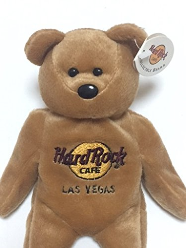 Hard Rock Cafe Isaac Beara 【LAS VEGAS】 Collectible Bear By Hard Rock Cafe International [並行輸入品]